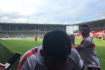 Makinson pranks Barba during first interview