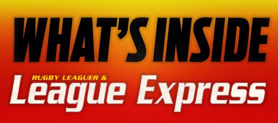 What's Inside League Express: September 25th edition
