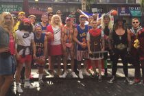 Ashton Sims dressed as The Undertaker, Jake Mamo pretending to be a princess, it can only mean one thing – Mad Monday