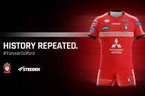 Salford reveal new playing jersey for 2018