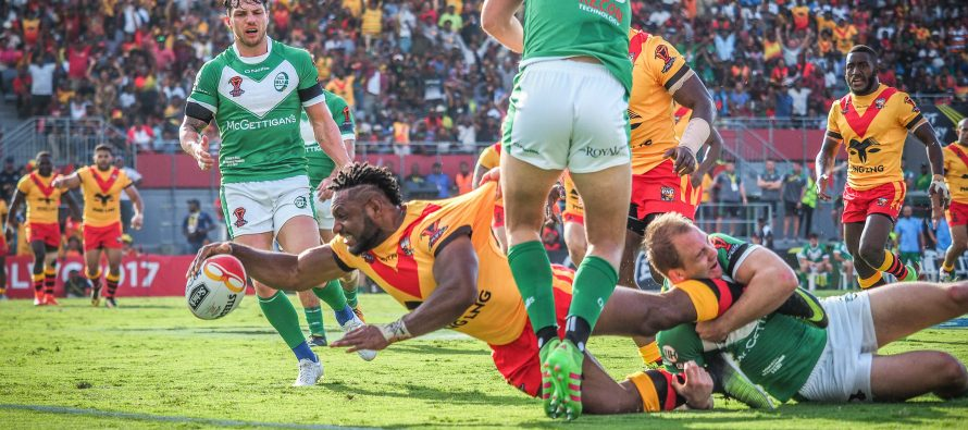 PNG sweat on Garry Lo's fitness ahead of England clash