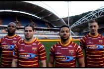 Huddersfield Giants reveal new shirt for 2018