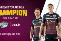 COMPETITION: Win the new Leeds Rhinos away jersey!