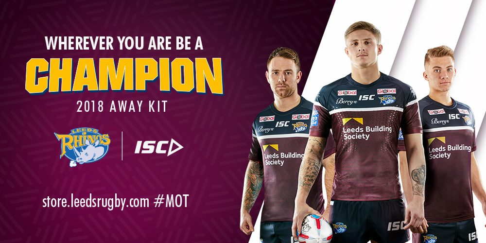 5d9b57ccd2c League Express has teamed up with Super League champions Leeds Rhinos to  give one of you the chance to win the brand new Leeds Rhinos away jersey.
