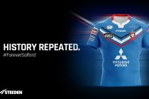 Salford launch new away kit