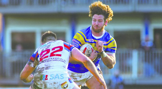 Mullally not on Wakefield Trinity's radar for 2019 – but another prop forward is