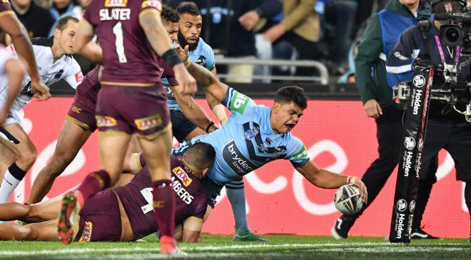 New South Wales seal Origin series win