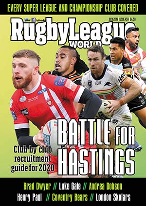 Get Rugby League World now!