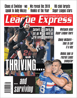 League Express - Every Monday